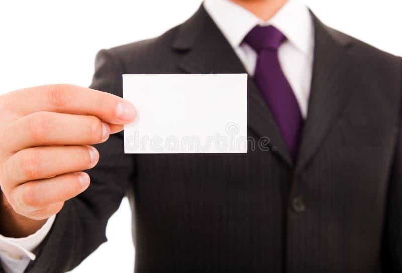 adreskaartje stock afbeelding
