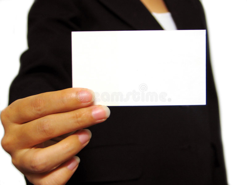 Adreskaartje royalty-vrije stock foto