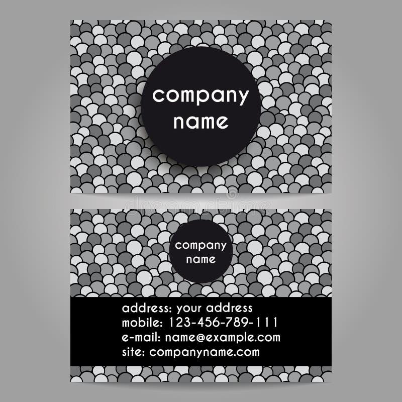 Adreskaartje voor bedrijf vector illustratie