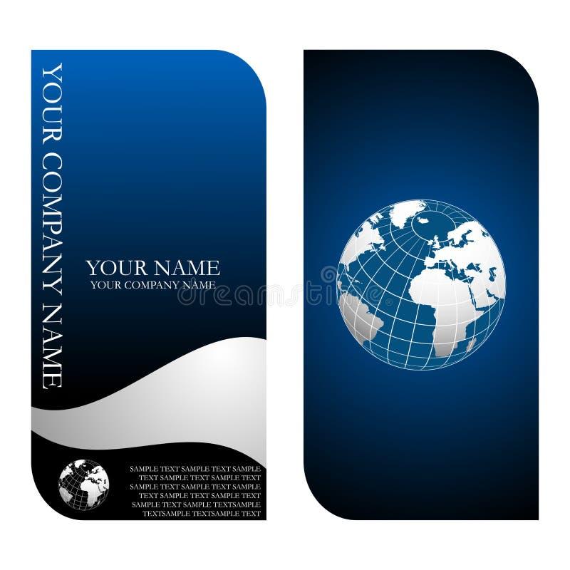 Adreskaartjemalplaatjes royalty-vrije illustratie