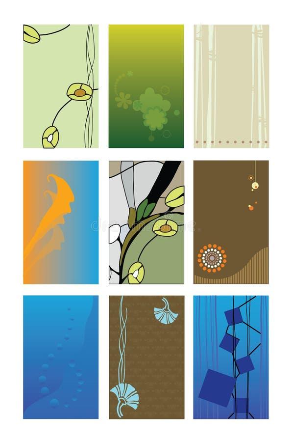 Download Adreskaartjes vector illustratie. Illustratie bestaande uit samenvatting - 10784101