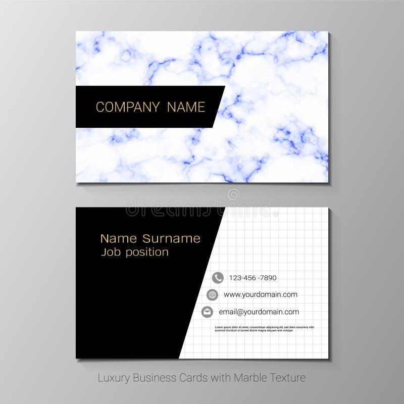 Adreskaartjes vectormalplaatje royalty-vrije illustratie