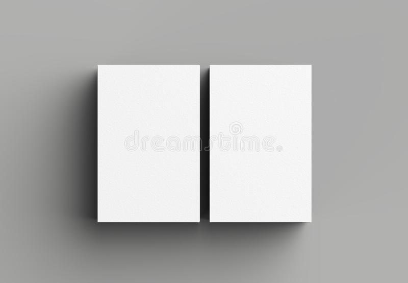 Adreskaartjespot op grijze achtergrond omhoog wordt geïsoleerd die verticaal 3d vector illustratie