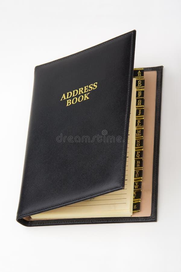 adressbok arkivbilder