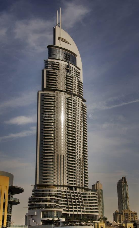 Adresse de Burj image stock