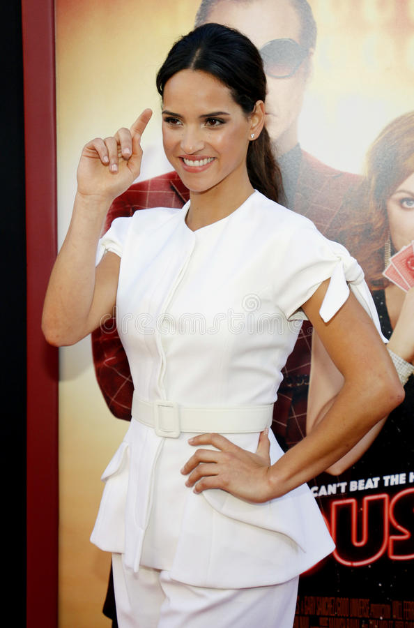 Adria Arjona. At the Los Angeles premiere of `The House` held at the TCL Chinese Theatre in Hollywood, USA on June 26, 2017 stock image