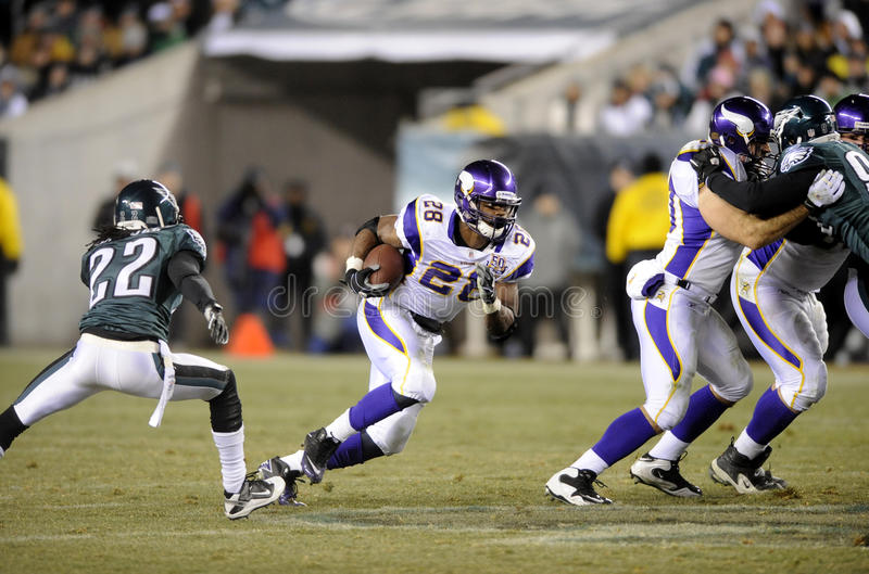 Download Adrian Peterson editorial stock photo. Image of running - 22770033
