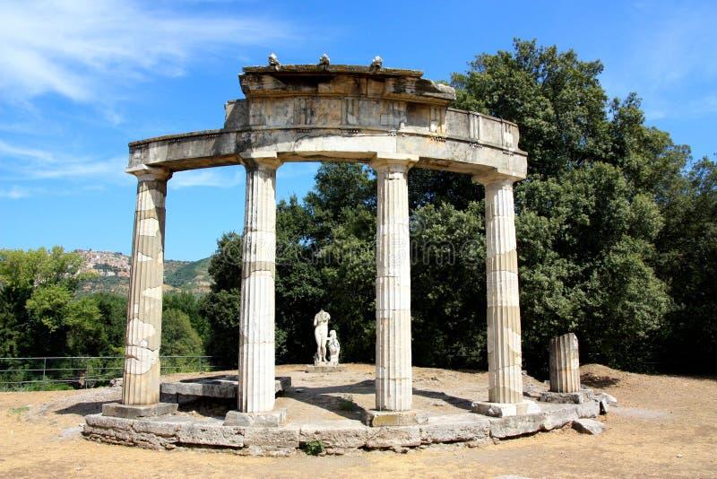 adriana Италия около виллы rome стоковое фото rf