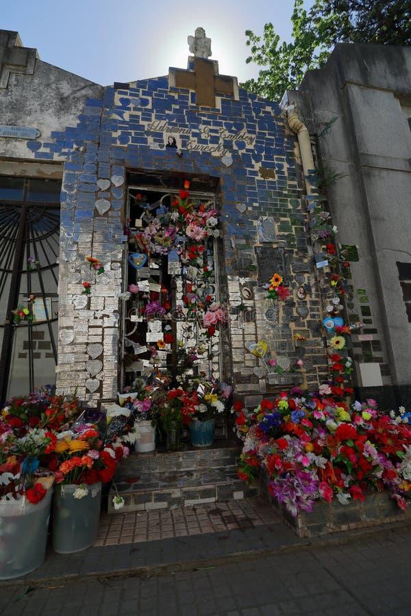 Adriana Taddey Turecky's Mausoleum imagem de stock