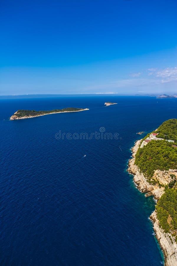 Adriatc liggande fotografering för bildbyråer