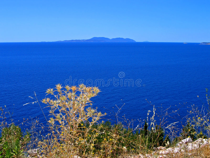Adriatic Clarity, Croatia Royalty Free Stock Images