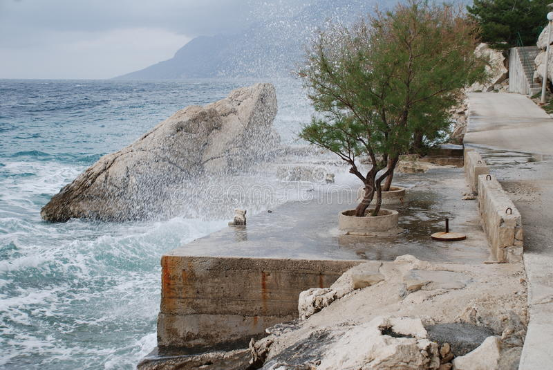 Adriatic Coastline, Croatia Royalty Free Stock Photography