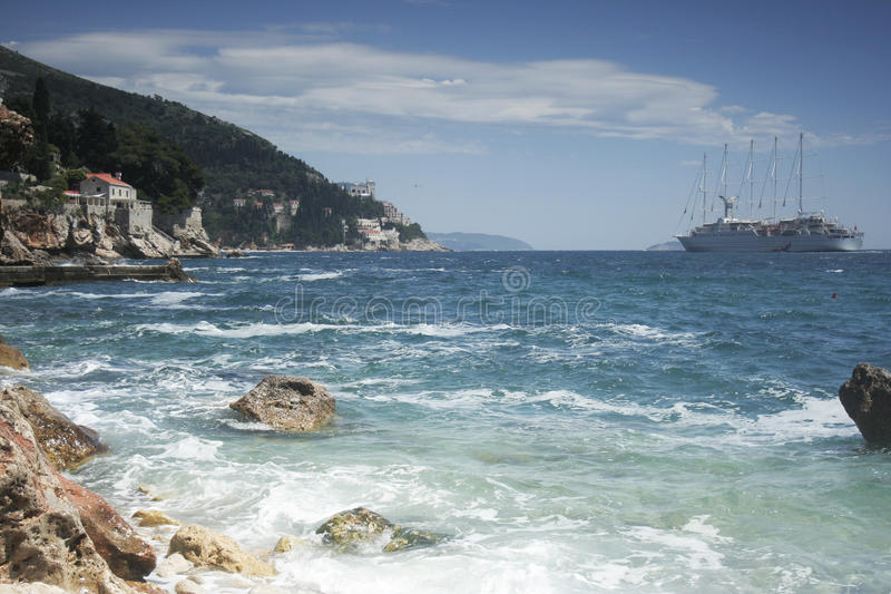 Adriatic cruise royalty free stock image