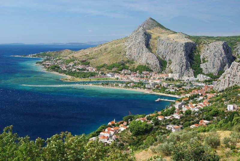 adriatic kust royaltyfri foto