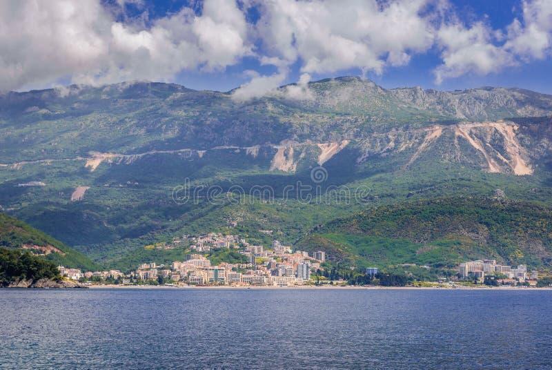 adriatic kusthav royaltyfria bilder