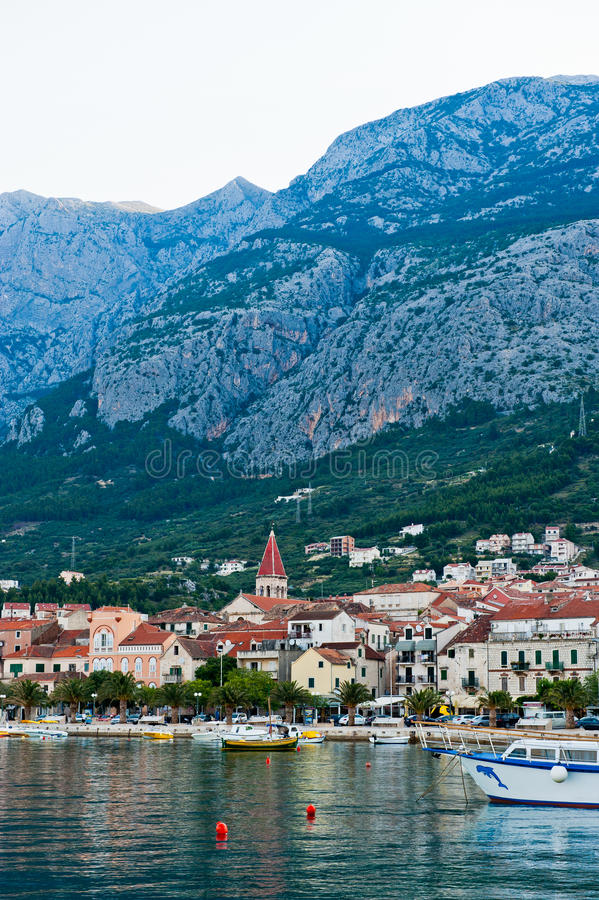 Download Adriatic Port Of Makarska,  Croatia Stock Photo - Image: 27097882