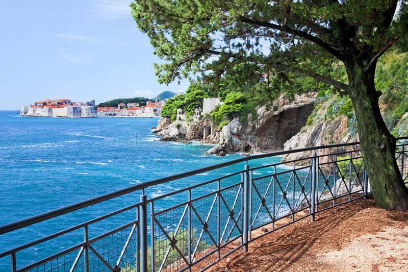 Download Adriatic Sea Coastline Near Dubrovnik Stock Image - Image: 26623569
