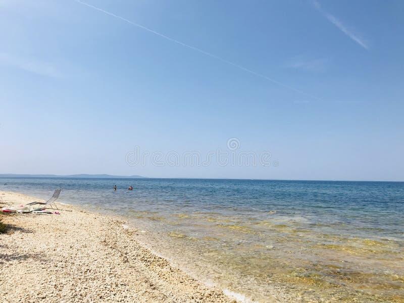 Adriatisch Overzees landschap stock foto's