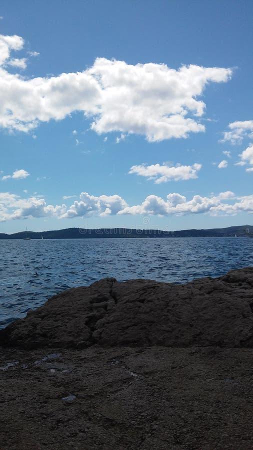 Adriatische Ansicht lizenzfreie stockfotos