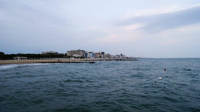 Adriatische Overzees in Italië stock fotografie