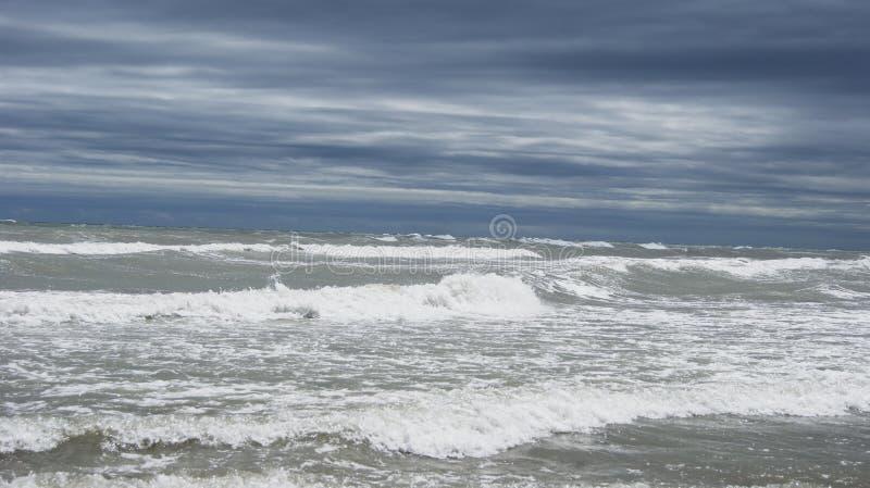 Adriatische Overzees van Italië royalty-vrije stock foto's