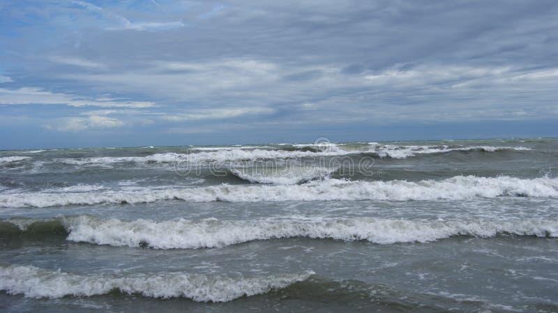 Adriatische Overzees van Italië stock foto