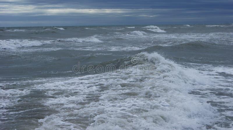 Adriatische Overzees van Italië stock afbeeldingen
