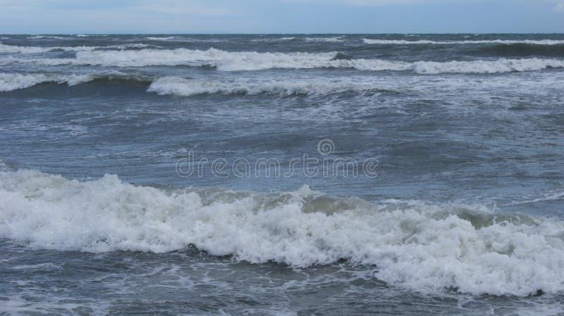 Adriatische Overzees van Italië stock afbeelding