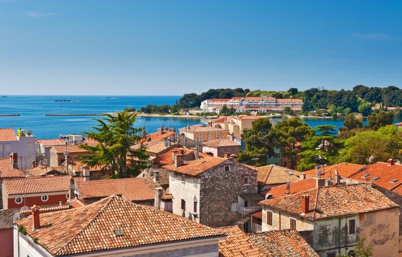 Adriatische Seeküste stockbilder