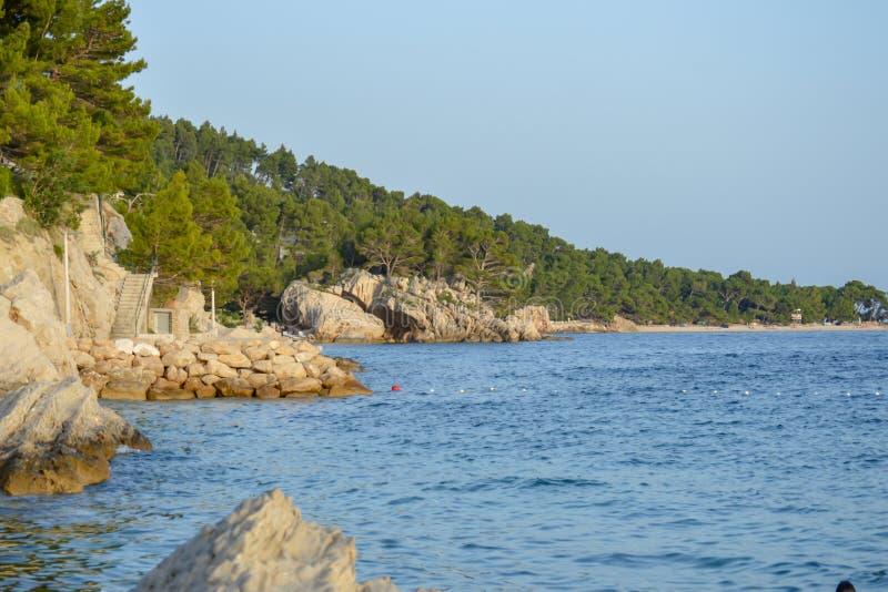 Adriatische Seek?ste lizenzfreies stockfoto