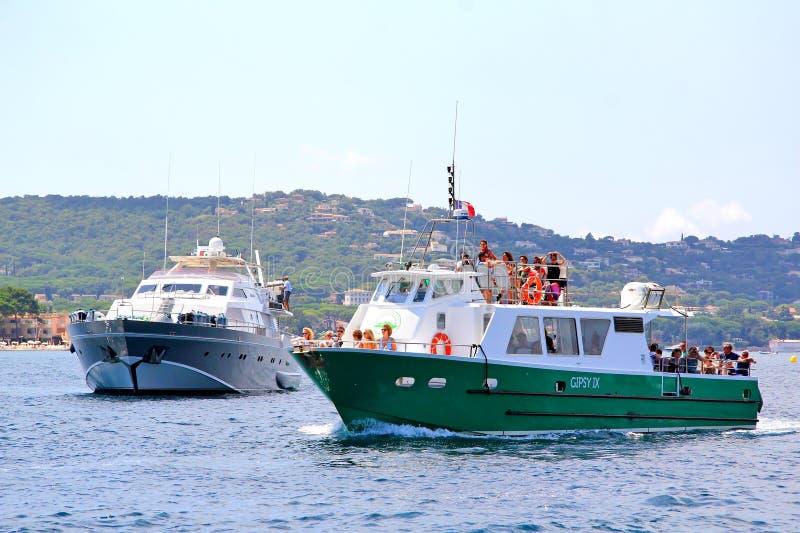 Adriatische vuurtoren royalty-vrije stock afbeelding
