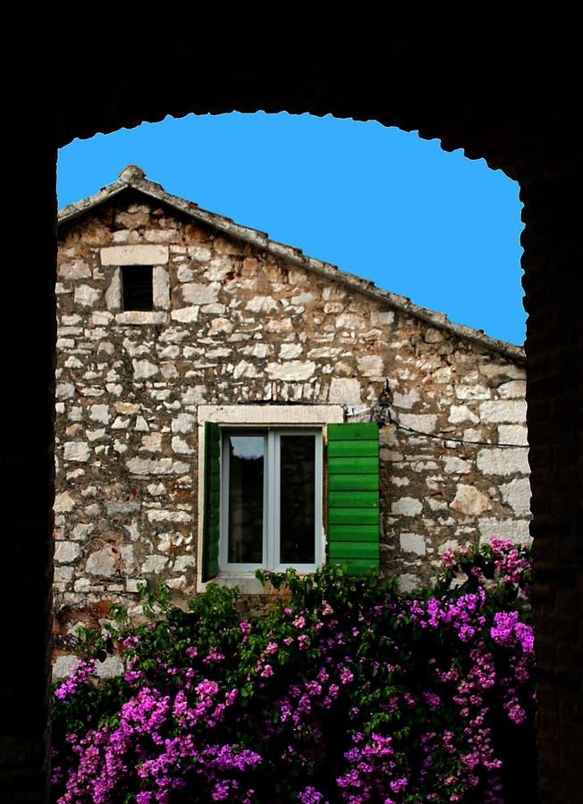 Adriatisches Auge lizenzfreies stockbild