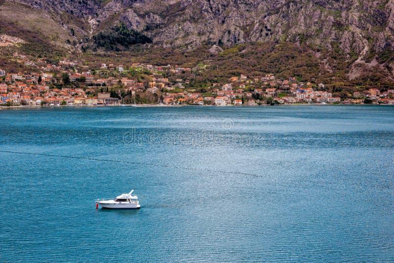 Adriatisches Meer Montenegro lizenzfreie stockbilder