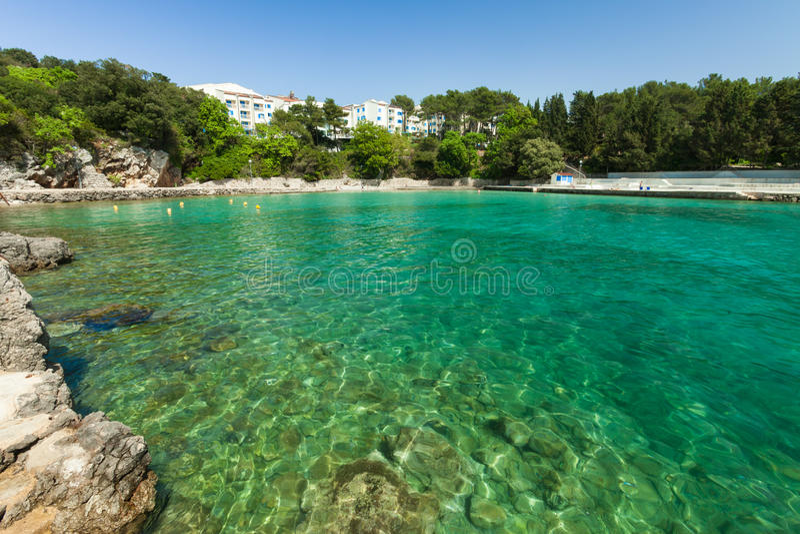 Adriatisches Seebucht lizenzfreie stockfotografie
