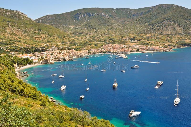 Adriatiskt hav fotografering för bildbyråer