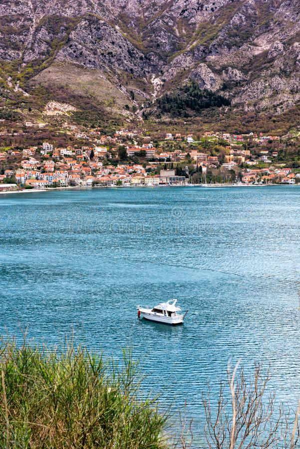 Adriatiskt hav Montenegro arkivfoto