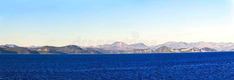Adriatycki krajobraz fotografia stock
