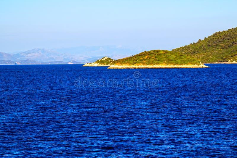 Adriatycki krajobraz fotografia royalty free