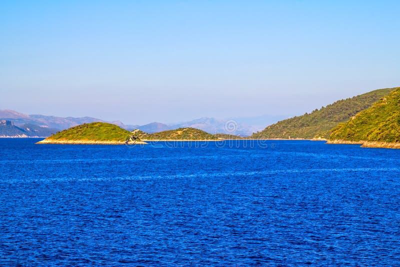 Adriatycki krajobraz obrazy stock