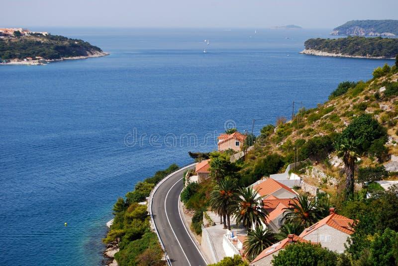 Download Adriatycki seacoast obraz stock. Obraz złożonej z idylliczny - 28960739