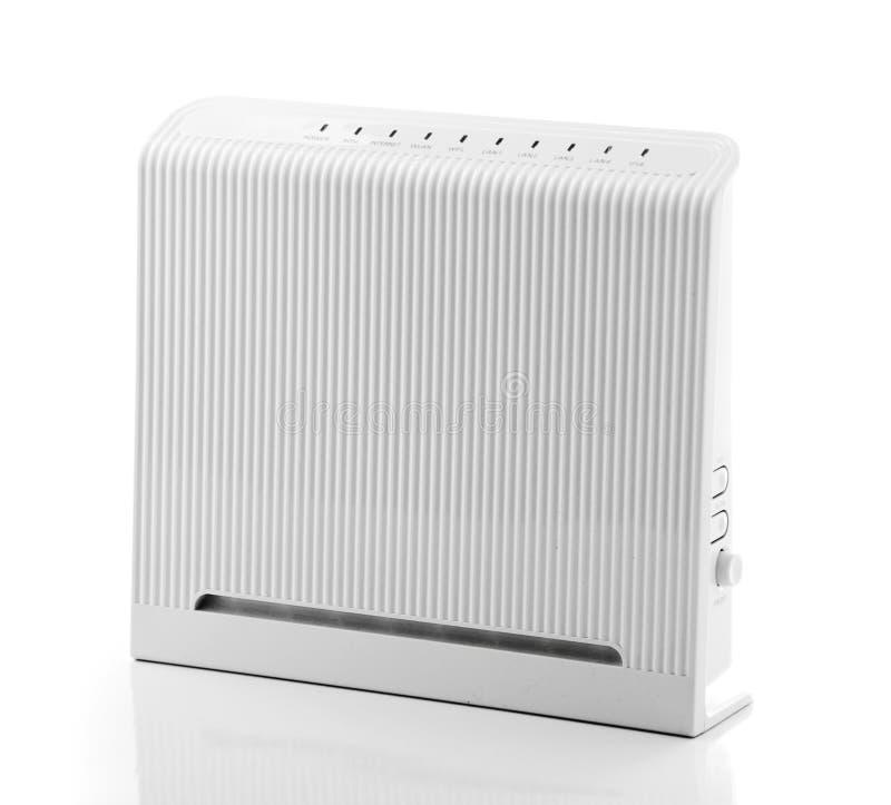 ADSL-Radioapparat-Fräser stockfotos