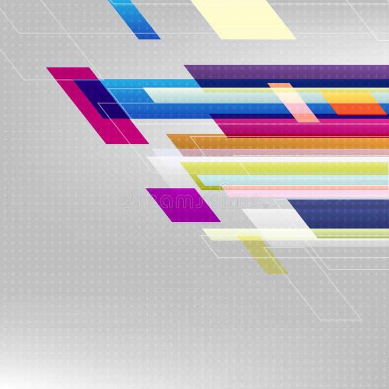 Adstract-Vektor-Hintergrund Ikone mit transparenter Schablone in der Mischung stockbilder