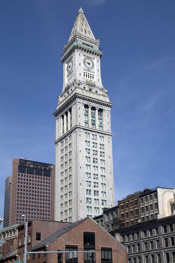 Aduanas de Boston fotos de archivo libres de regalías
