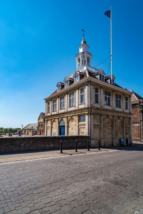 Aduanas en Lynn de rey, Norfolk, Inglaterra imagen de archivo libre de regalías