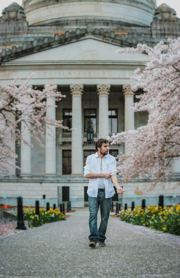 Adult, Architecture, Blossom stock photography