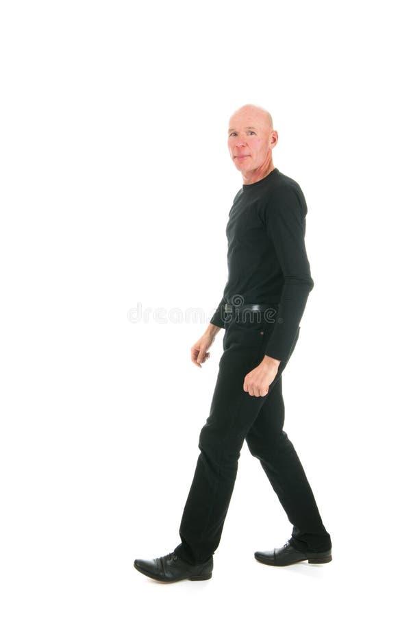 Adult Bald Man Royalty Free Stock Photo