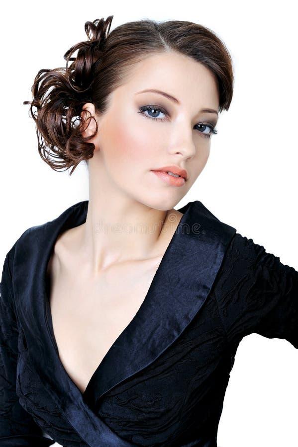 adult beaity elegance face girl στοκ φωτογραφίες με δικαίωμα ελεύθερης χρήσης