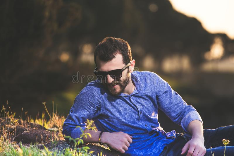 Adult, Beard, Blur, Boy stock images