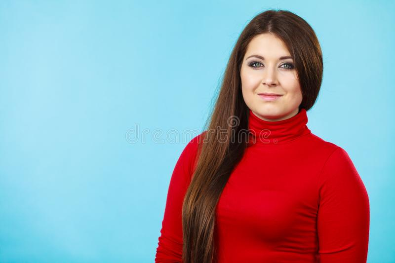 Adult beauty being happy stock photo