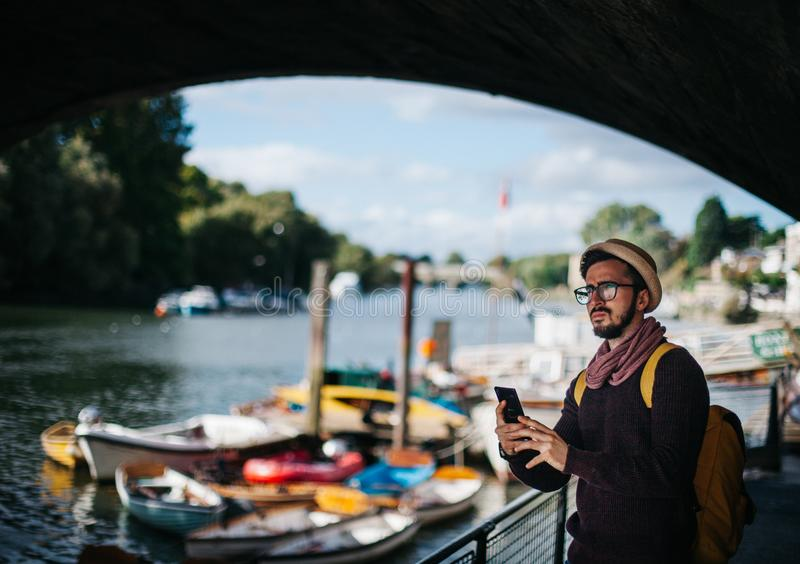 Adult, Blur, Boats stock images